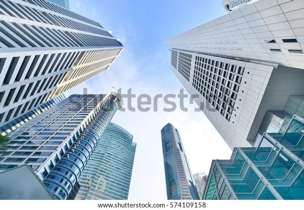 Modern Office Buildings Skyscraper Business Office   Buildings ...