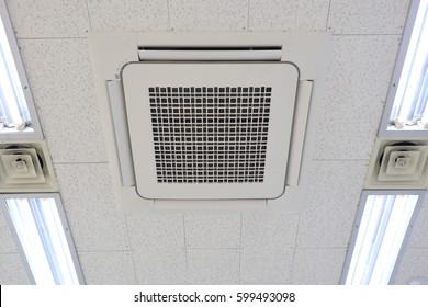 Modern Office Ceiling Air Conditioning System