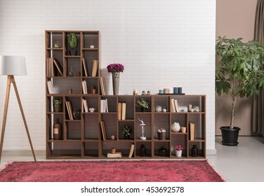 modern office library interior design decoration