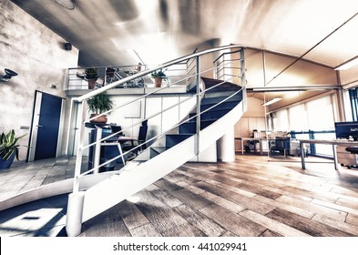 Modern Office. Success and corporate concept.