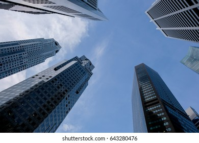 Modern office,Abstract business background with office building