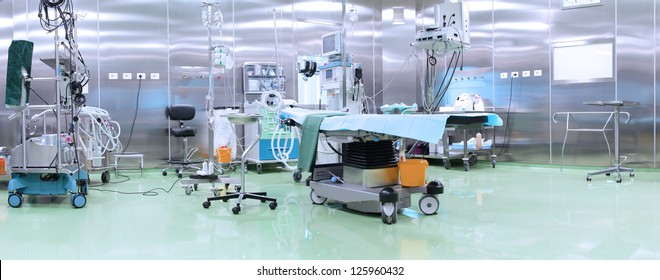 Modern operating room with advanced equipment