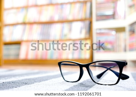Modern Optical Glasses Put On Table Stock Photo Edit Now