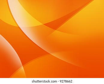 Modern orange smooth strokes background