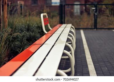 Modern Park Bench Design