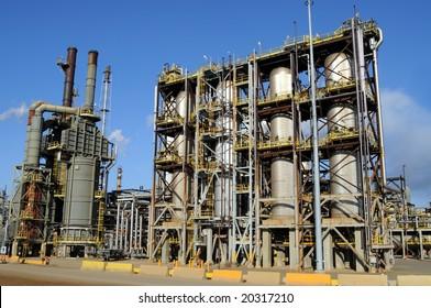 Modern petrochemical plant