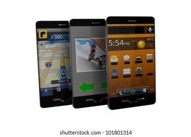 modern phones