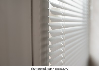 modern plastic Shutter Blinds in room