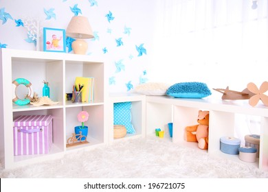 Modern playroom for children