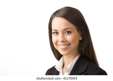 Modern portrait of a successful young professional business woman