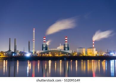 Modern Powerplant producing heat