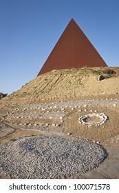 Modern Pyramid in Sicily.
