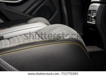 Modern Race Car Interior Sport Seat Stock Photo Edit Now 715770385
