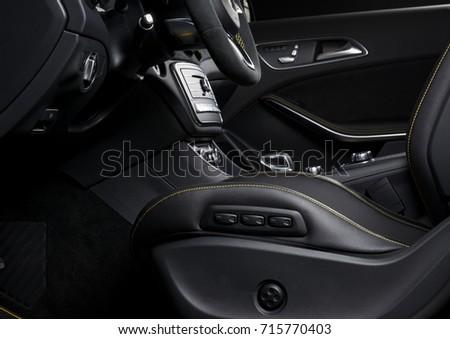 Modern Race Car Interior Sport Seat Stock Photo Edit Now 715770403