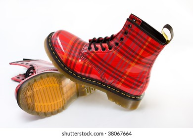 Modern red army boots