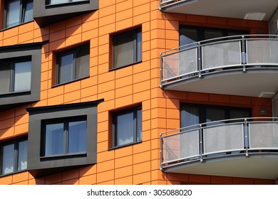 Modern residential apartments in Prague, Czech Republic