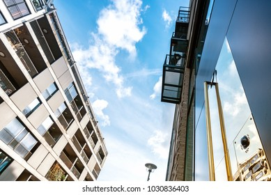 modern residential architecture in central berlin