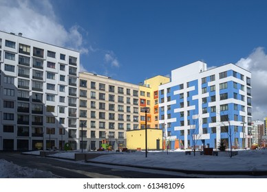 """Modern residential development. Micro-city """"In the Woods"""" . Moscow, Russia"""