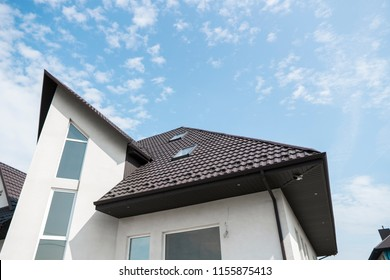 Tile Effect Pvc Coated Metal Roof Sheets Images Stock Photos Vectors Shutterstock