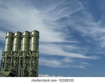 Modern Russian anti-aircraft missiles OSA-AKM