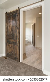 Modern Rustic Sliding Barn Door