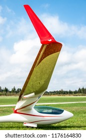 modern sailplane close up - photo