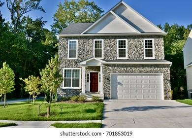 Modern single-family home