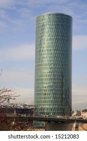 Modern skyscraper in Frankfurt