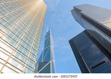 Modern skyscrapers in Downtown district