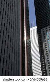 Modern skyscrapers in Downtown Toronto