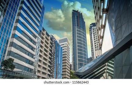 Modern Skyscrapers of Sydney, Australia