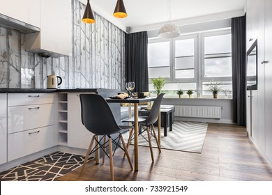 Small Apartment Kitchen Images Stock Photos Vectors Shutterstock