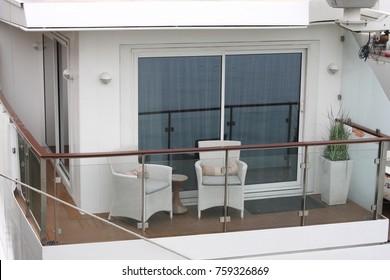 Modern Stainless Steel balcony railing