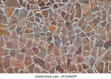 Modern Stone Wall Patio Floor Random Stock Photo Edit Now