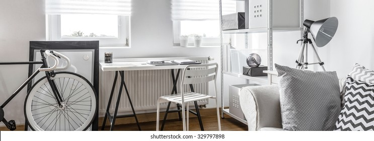 Modern studio apartment - contemporary space for hipster