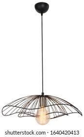 modern style decorative home room lamp black metal chandelier vintage