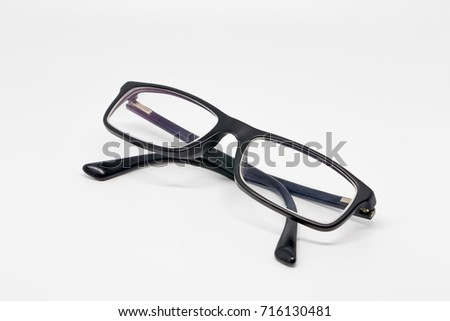 d13845bed8c1 Modern Style Eyeglasses Spectacles Glasses On Stock Photo (Edit Now ...