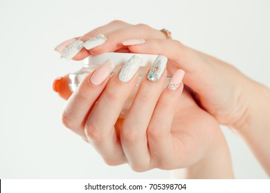 Nail Polish Art Manicure Modern Style Stock Photo Edit Now