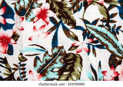 Modern stylish texture. The flower cotton chintz.
