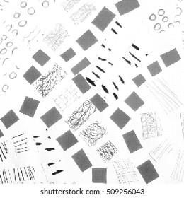 Modern stylish texture. Repeating geometric tiles.