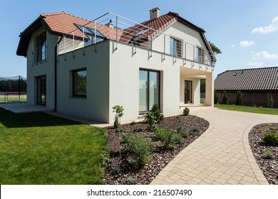 Modern Minimalist House Exterior Images Stock Photos Vectors Shutterstock