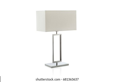 Table lamp imgenes fotos y vectores de stock shutterstock modern table lamp with small white lampshade isolated aloadofball Images
