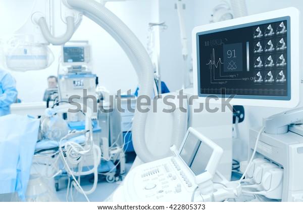 Moderne Technologie zur Diagnose von Herzkrankheiten.