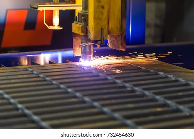 Modern technology not requiring the use of a cutting tool. Instead of the tool the laser beam or plasma or electric arc