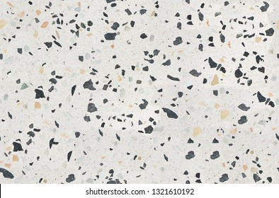 Modern Terrazzo texture. Polished concrete floor and wall pattern. Color surface marble and granite stone, material for decoration