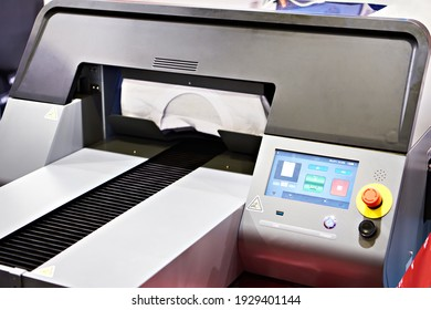 Modern textile printer for clothing and fabric