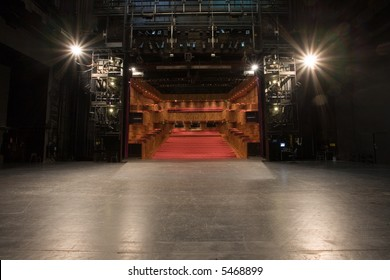 modern theater stage