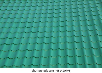 Modern tile effect PVC coated metal roof sheets