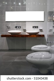 Toilette Modern modern toilette stock images royalty free images vectors
