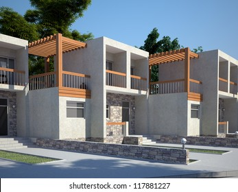 Modern town houses